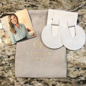 Kendra Scott Diane earrings in White